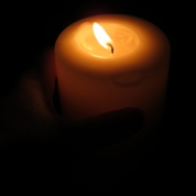 Candle Full Moon Sept 2018